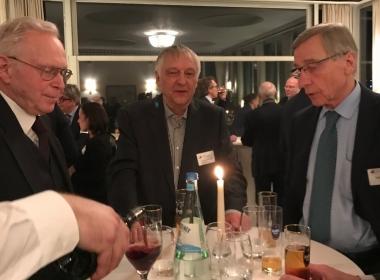 Wolfgang Clement, Hans Haarmeyer, Manfred Obermüller